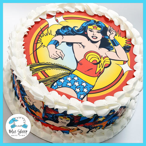 Wonder Woman Ice Cream Cake NJ
