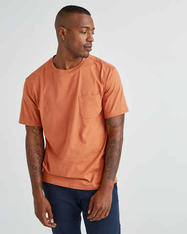 pima crew pocket tee