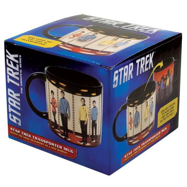 star trek transporter transforming mug