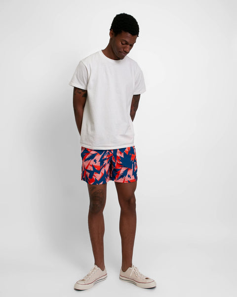 multi abstract swim trunk