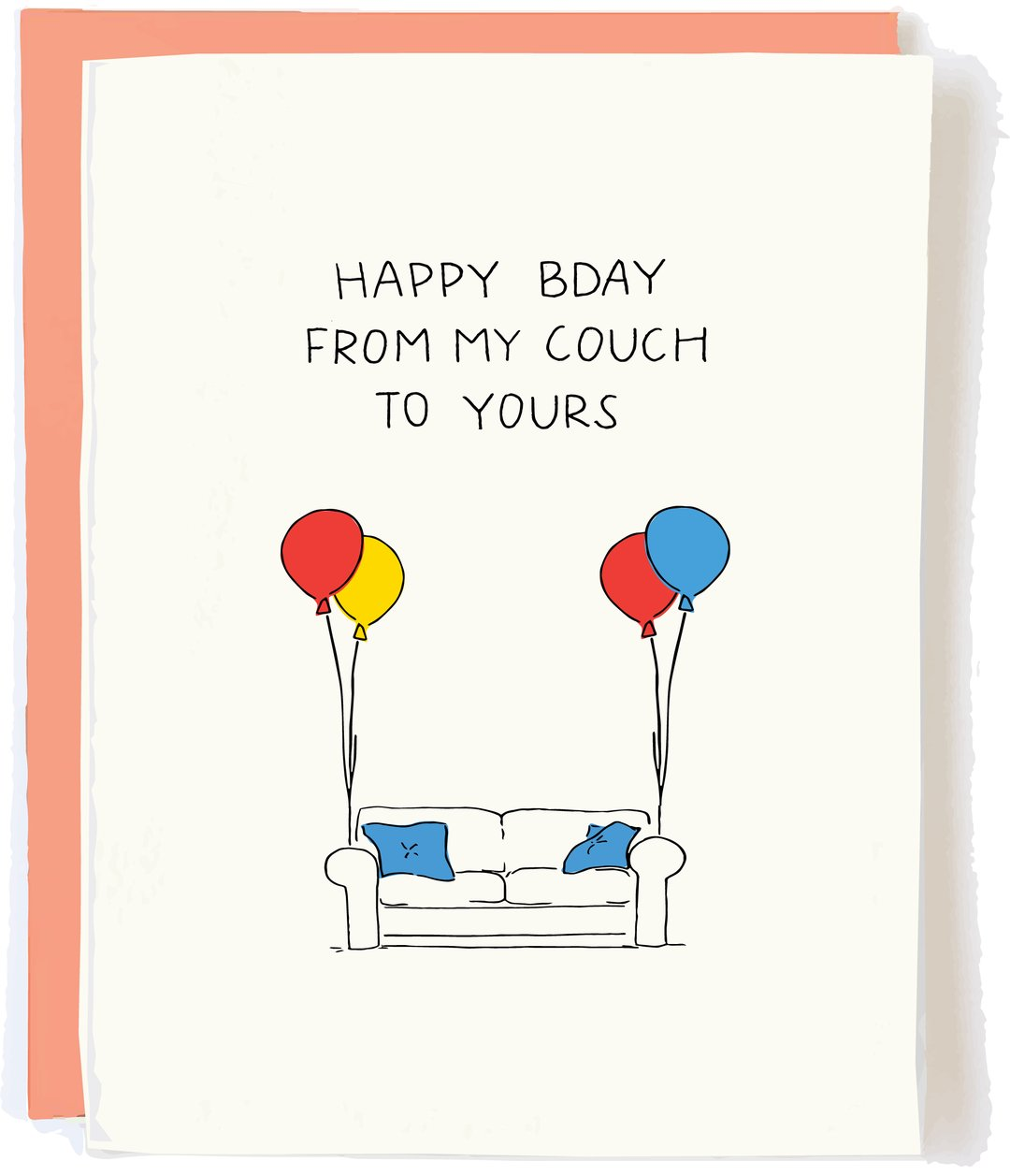 my couch to yours card