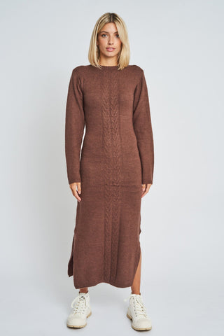 adley knitted dress