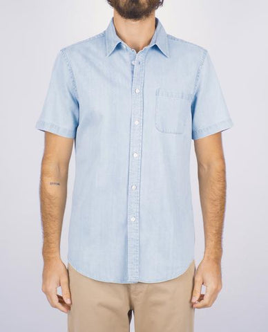 ganga ss denim shirt