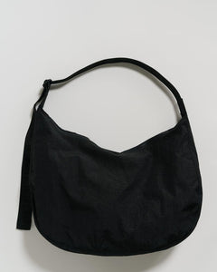 nylon crescent bag - large
