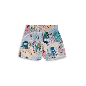 cityscape kids swim trunk