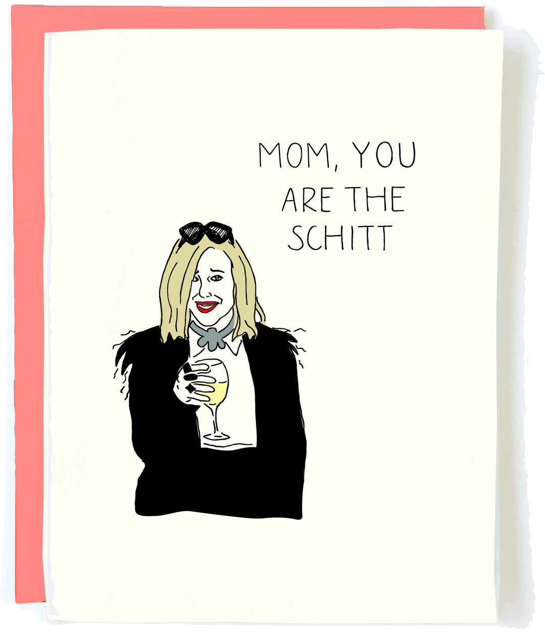 schitt's creek mother card