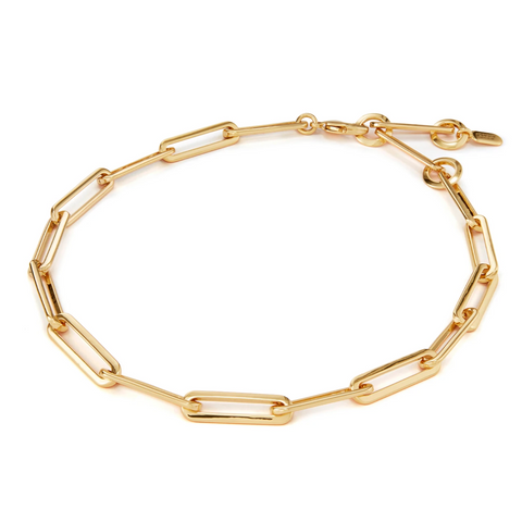 stevie chain necklace - gold