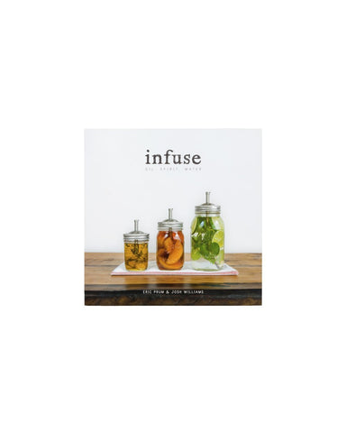 infuse book: oil, spirit, water