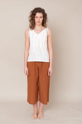 adrienne organic cotton trouser
