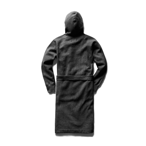tiger fleece hooded robe