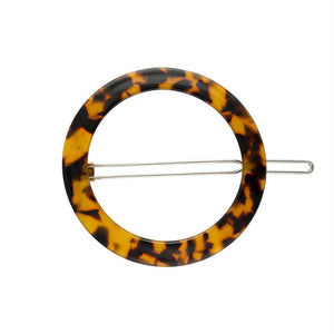 small circle hair clip
