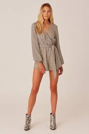 Longitude Check Playsuit
