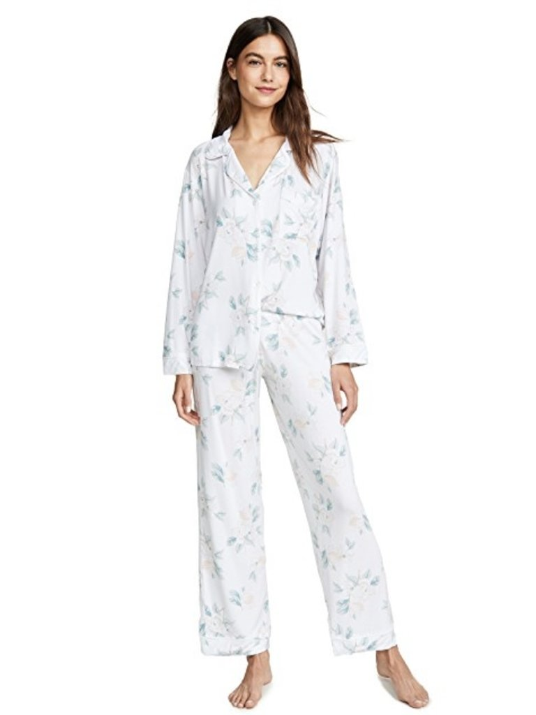 mother's blossom long pj set