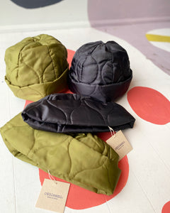 military quilt watch cap