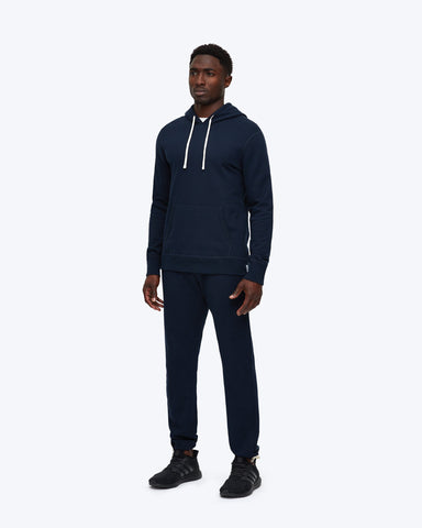 midweight terry pullover