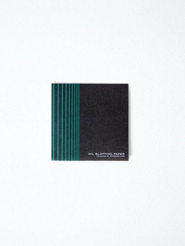 charcoal oil blotting paper