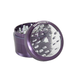 SharpStone® Clear Top 4 Piece Herb Grinder - Purple