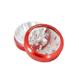SharpStone® Clear Top 2 Piece Herb Grinder - Red