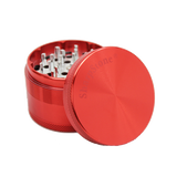 SharpStone® Hard Top 4 Piece Herb Grinder - Red