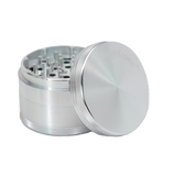 SharpStone® Hard Top 4 Piece Herb Grinder - Silver