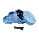 SharpStone® V2 Hard Top 4 Piece Herb Grinder - Blue