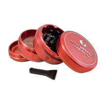Load image into Gallery viewer, SharpStone® V2 Hard Top 4 Piece Herb Grinder - Red
