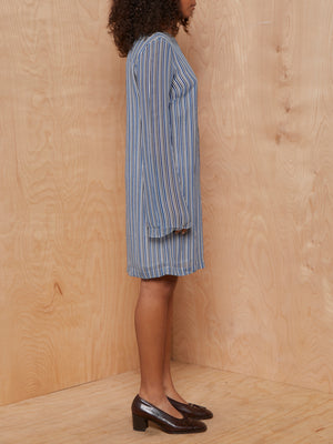 Ganni Striped Sheath Dress