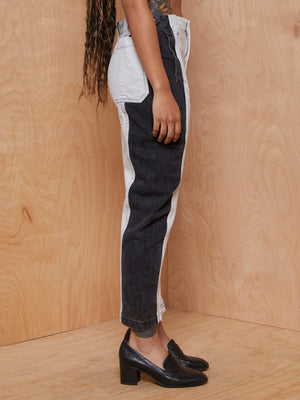 Rachel Comey Two Tone Jeans with Adjustable Waistband