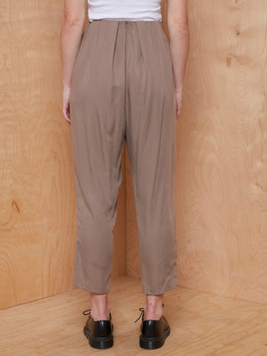 Camilla and Marc Grey Pleated Realm Trouser
