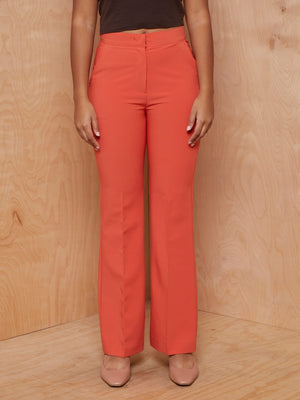 Ready 2 Wear Orange Safari Two-Piece Set