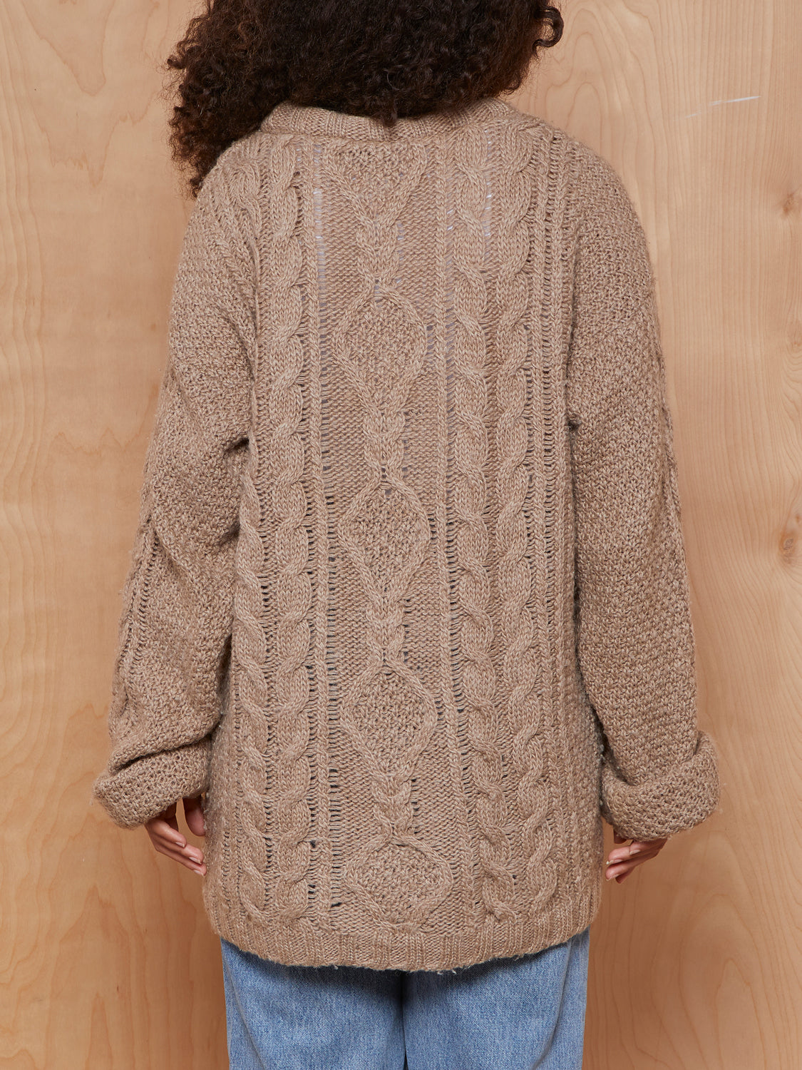 Top Shop Chunky Beige Sweater