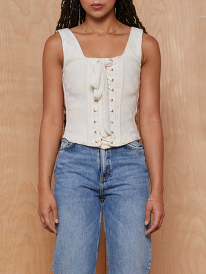 Baggy Threads Lace Up Corset