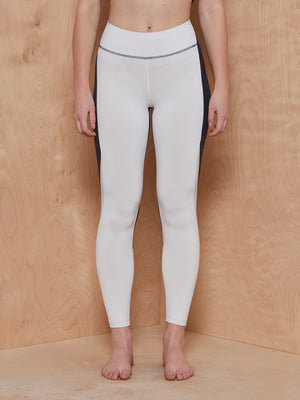 Outdoor Voices TechSweat Zoom Leggings in Black and White