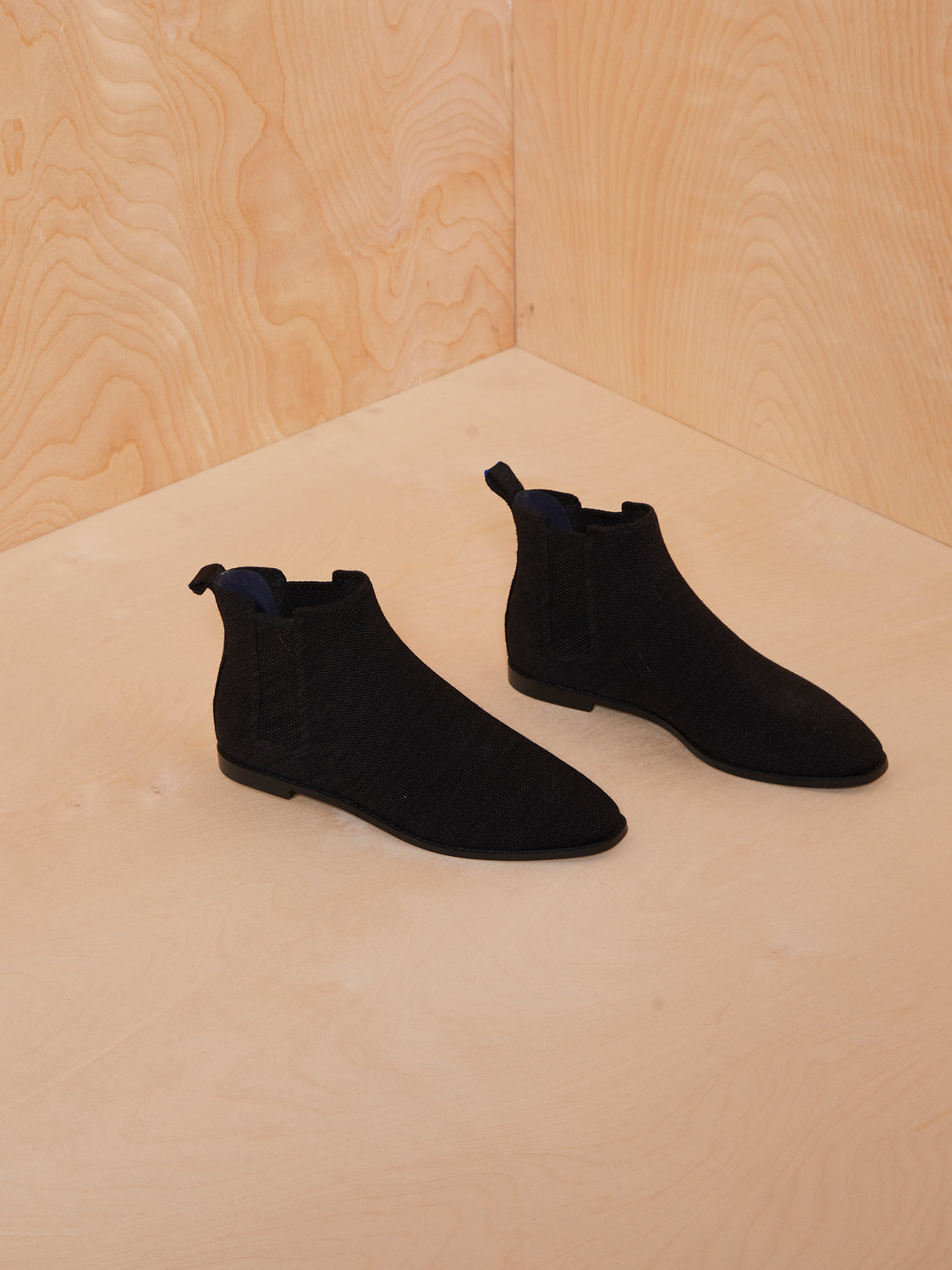 Rothy's Black Knit Booties