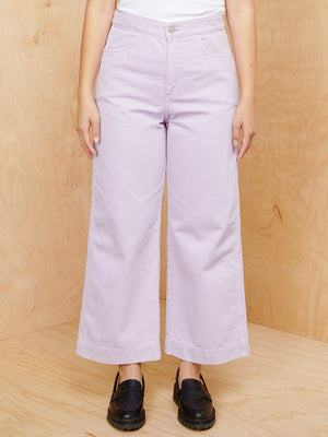 Weekday Lilac Wide Leg Pants