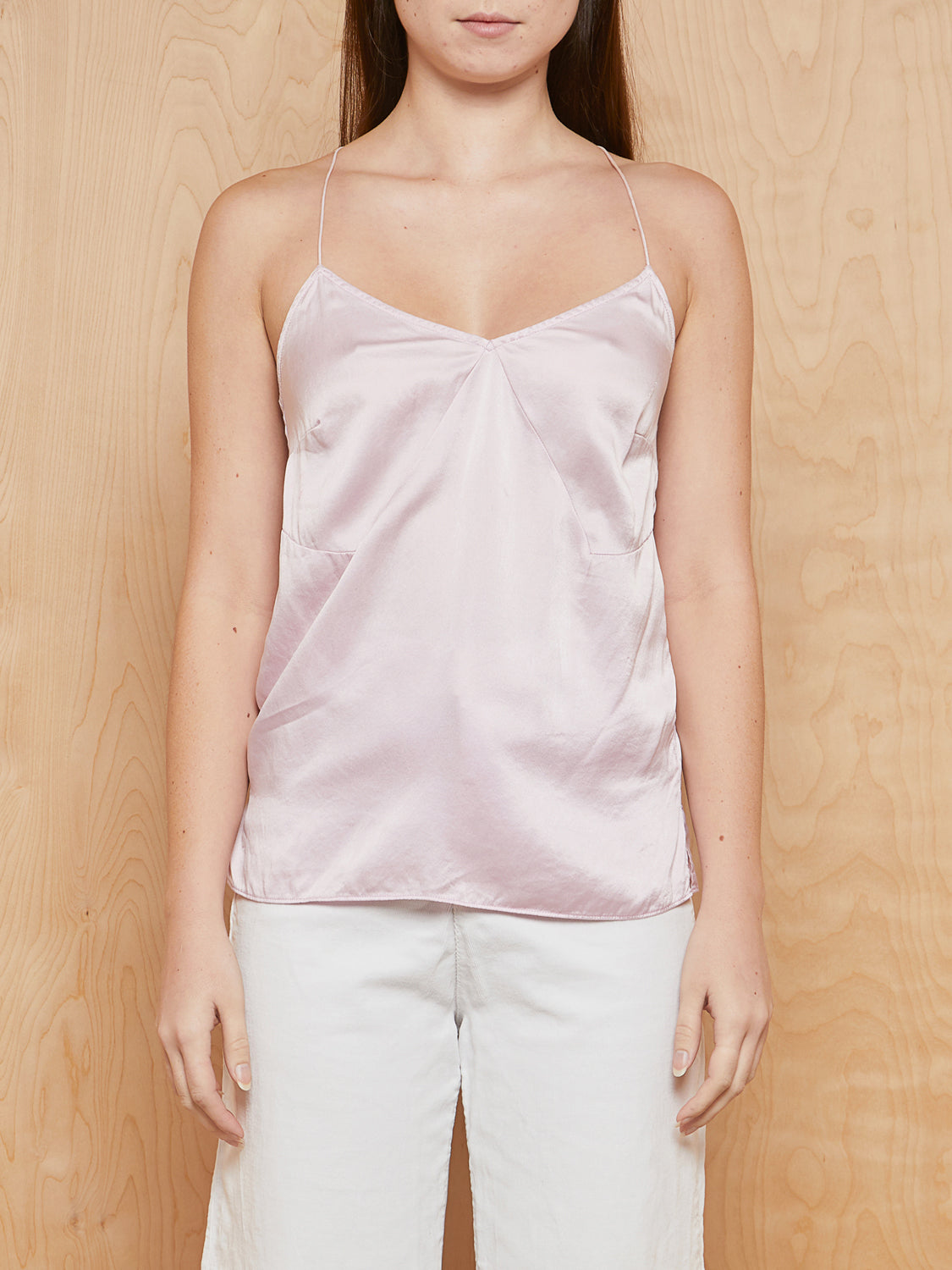 Pari Desai Light Pink Silk Tank