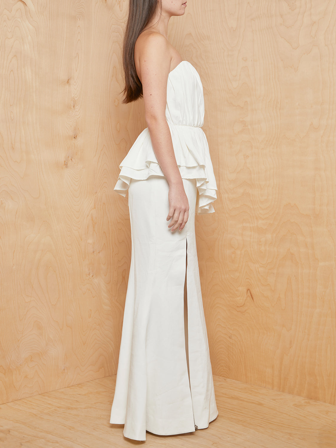 CM/EO Collective Ivory Silenced Gown