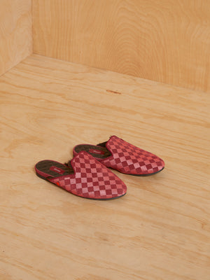 HUMS Fur Lined Checkered Slides