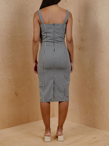 Capulet Lola Bustier Gingham Dress