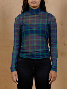 & Other Stories Tartan Turtleneck