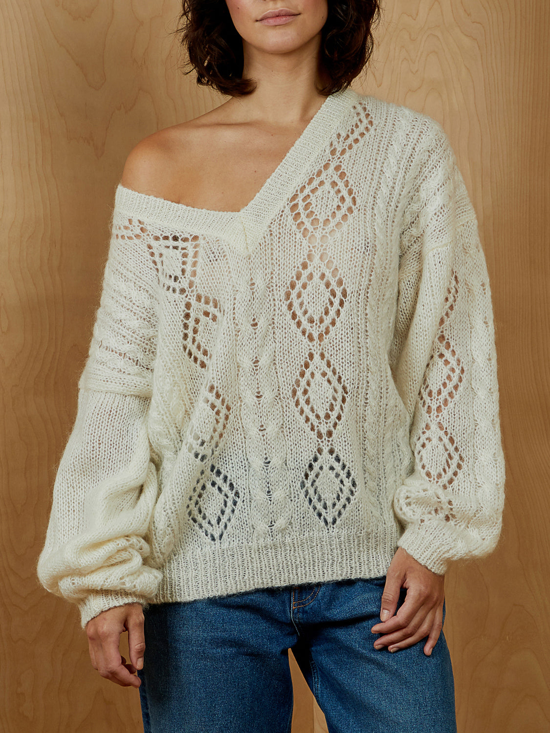 Boundary Waters Mohair Sweater