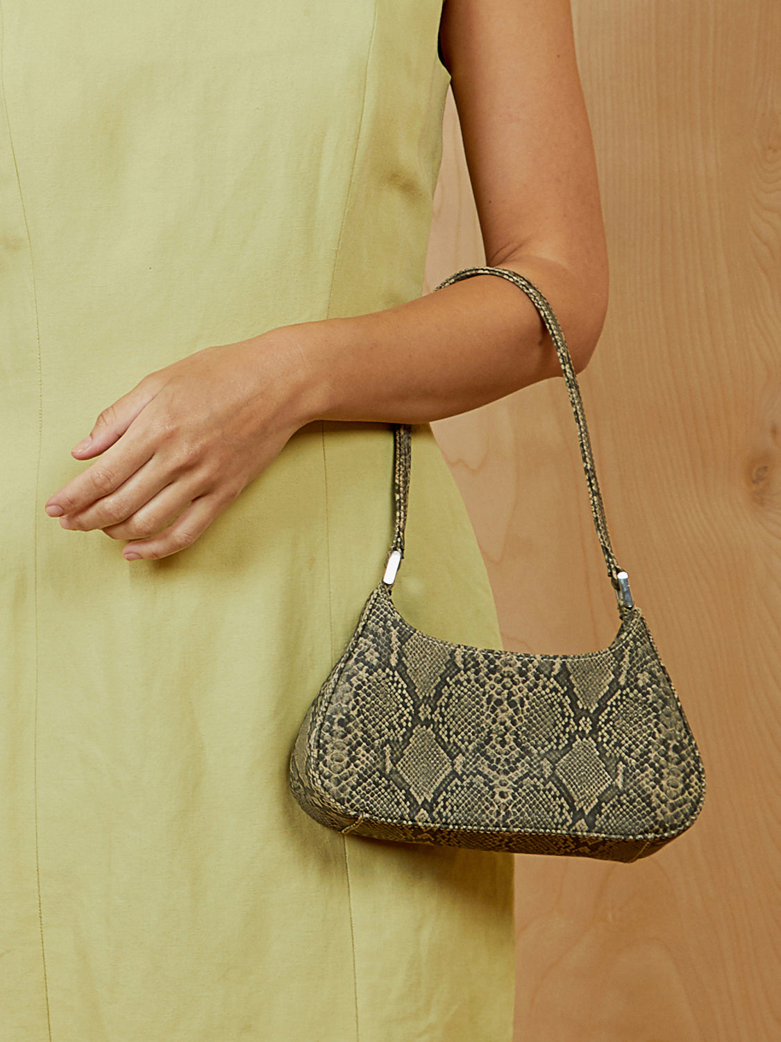 Mini Liz Claiborne Snakeskin Purse