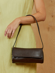Mini Liz Claiborne Brown Purse