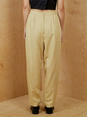 Vintage Tan Trousers