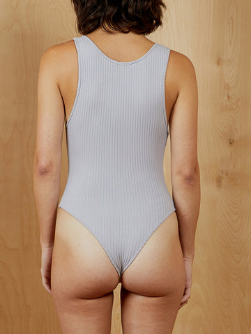 The Line By K Grey Sleeveless Bodysuit