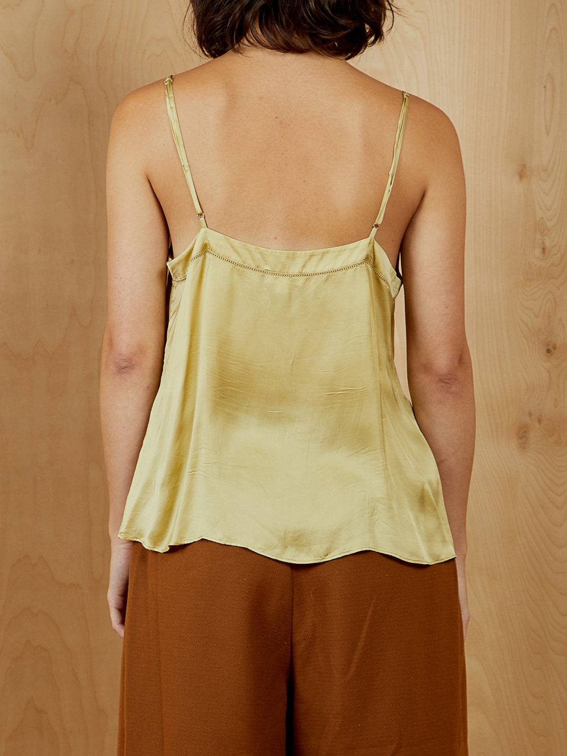 Green Silk Wilfred Tank