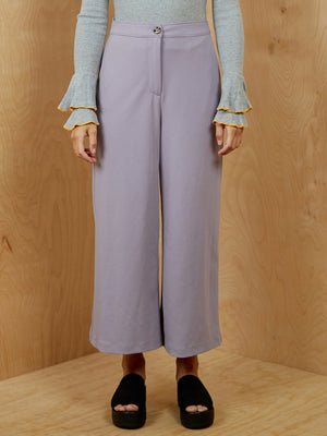 Lavender Wide Leg Pants