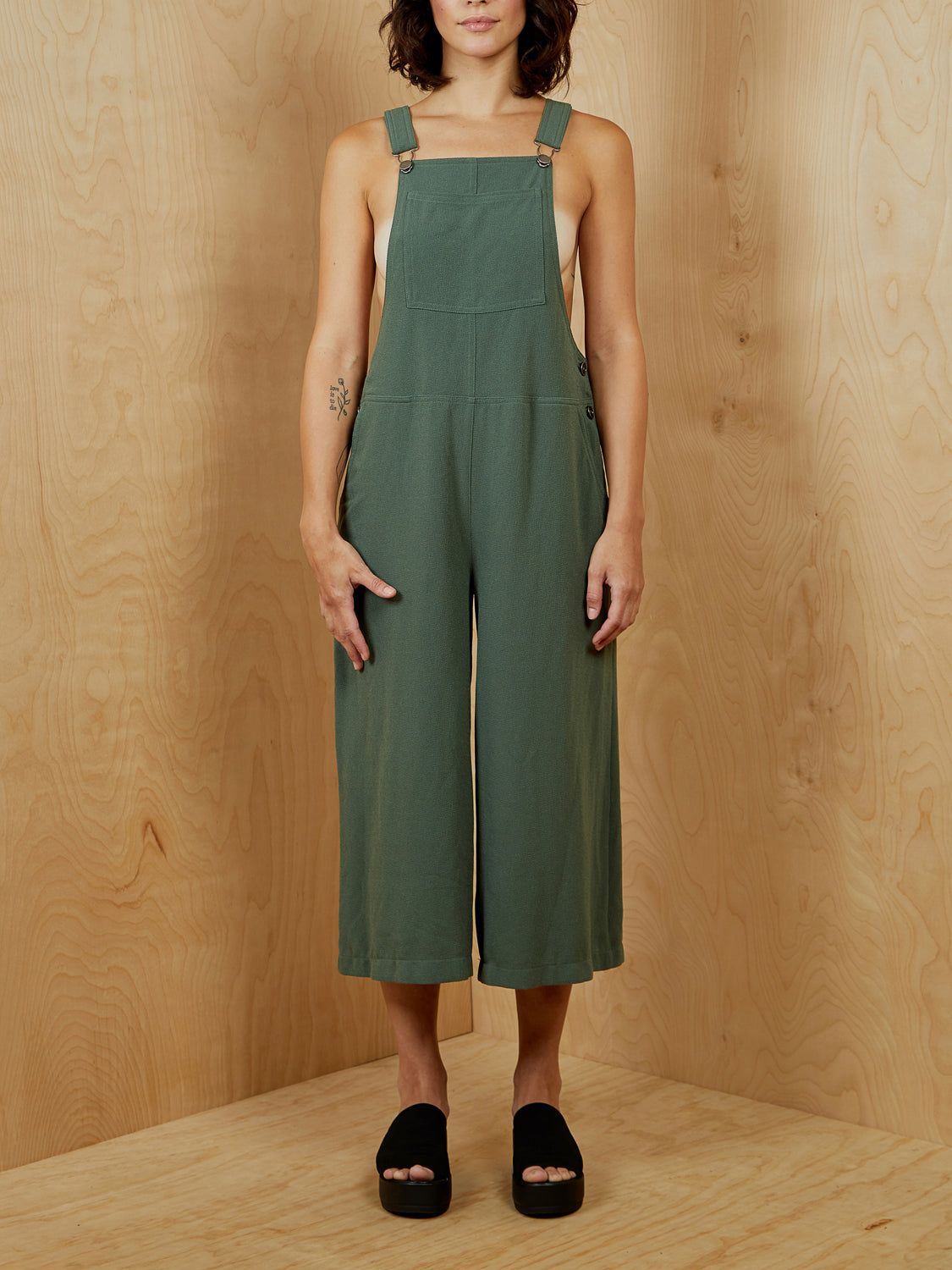 Olive Overalls