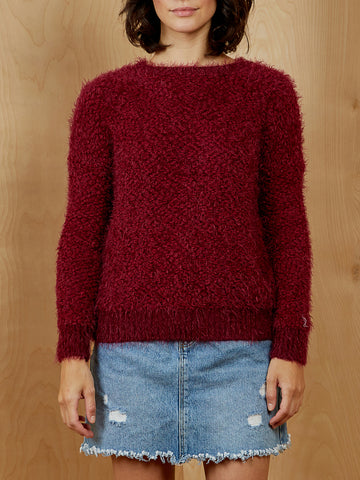 Burgundy Sweater