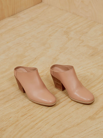 Rachel Comey Nude Leather Clogs